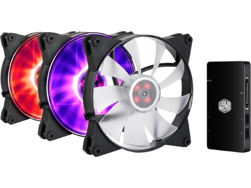 Вентилятор для корпуса Cooler Master MasterFan Pro 140 Air Flow RGB 3 in 1 (MFY-F4DC-083PCR1)