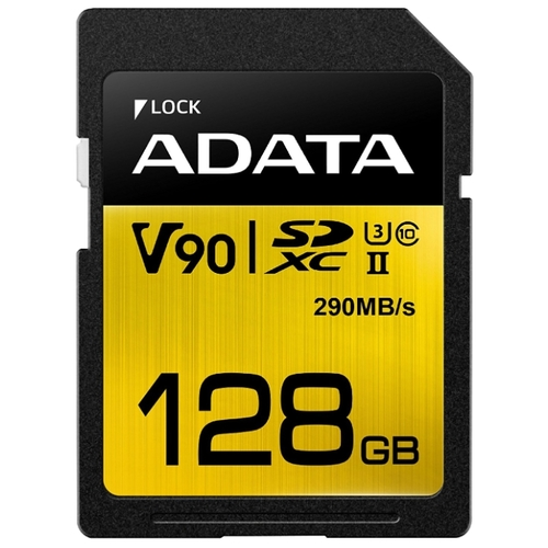 Флеш карта SD 128GB A-DATA PREMIER ONE ASDX128GUII3CL10-C