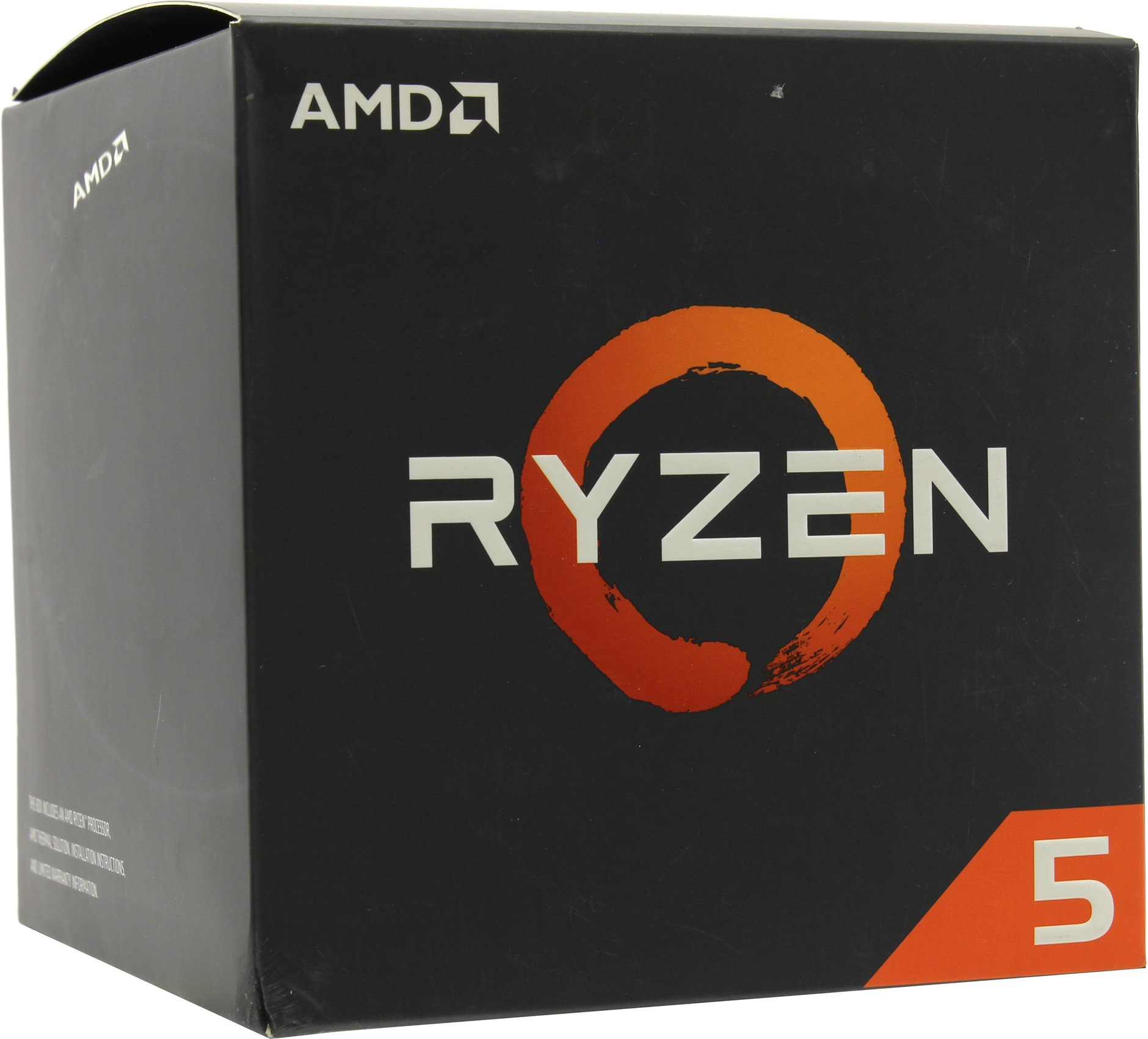 Процессор AMD Ryzen 5 2600X AM4 (YD260XBCAFBOX) (3.6GHz) Box